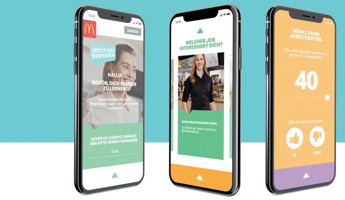 McDonald's Digitaler Bewerbungs-Assistent
