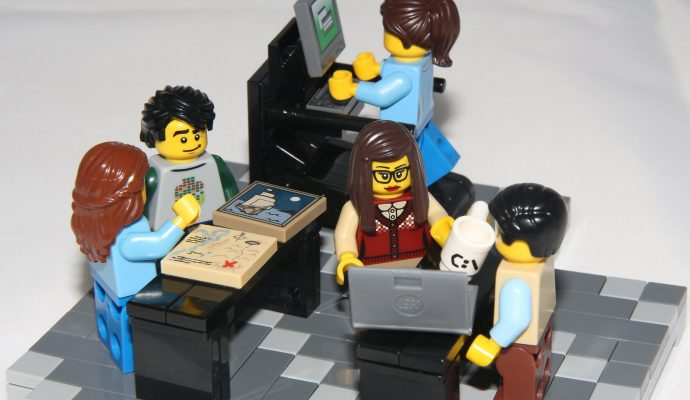 Future of work at LEGO