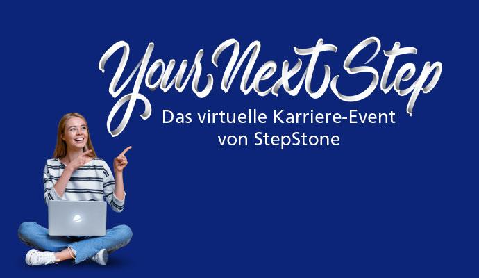 Neue Wege im Recruiting mit dem virtuellen Karriere-Event von StepStone